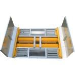 Myjnia kół i podwozi Herakles HR01L - rolkowo-platformowa