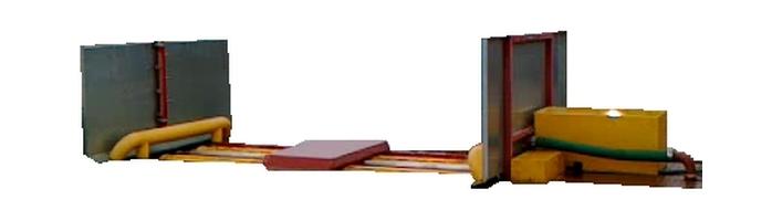 Myjnia kół i podwozi Herakles HR01S - rolkowa