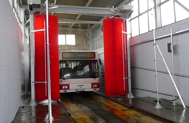 Myjnia autobusowa Piotrków Trybunalski